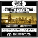RETRO REVIVAL Saksofon altowy SEVENTH AVE SOUTH /REPLIKA/ - ustnik metal