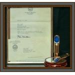 SUGAL Model PRESIDENTAL (Bill Clinton) GOLD Saksofon tenorowy - ustnik metal