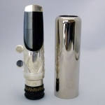 WOODSTONE/ISHIMORI AM-1 SILVER PLATED Saksofon altowy - ustnik metal