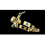 JLV LIGATURE Klarnet B GOLD PLATED
